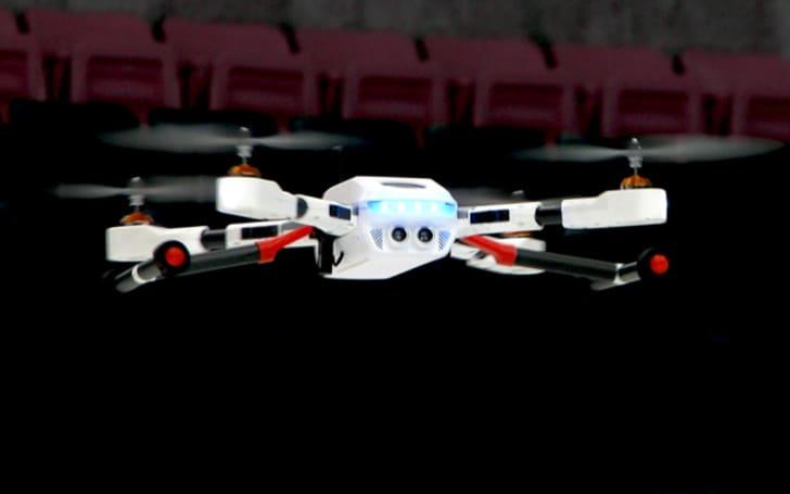 PlexiDrone is a highly portable quadcopter for budding aerial photographers