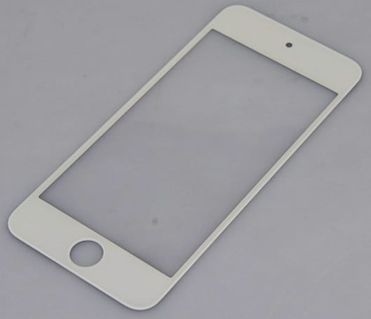 Purported fifth-gen iPod touch panel slips out, shows a tall 4.1-inch screen that's possibly iPhone-bound