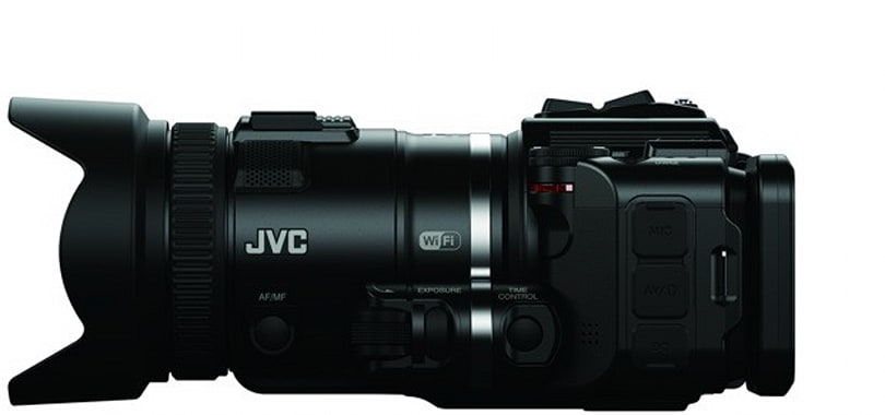 JVC launches Procision slow-mo HD camcorder, refreshed Everio line at CES