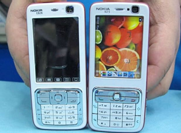 Nokia sues shops carrying Nokir E828, ignores manufacturer