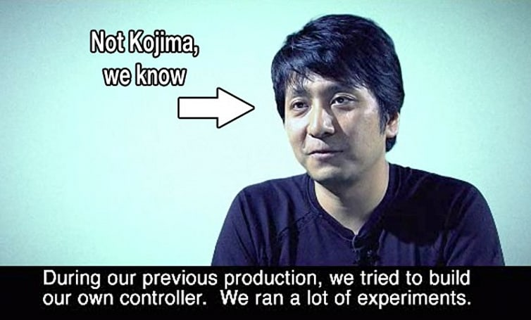 TGS 2009: Kojima toyed with shocking, 'transforming' controllers for MGS4