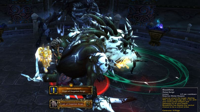 Mists of Pandaria Beta: Crypt of Forgotten Kings scenario