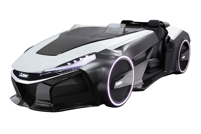Mitsubishi set to show off its latest far-out EV concept