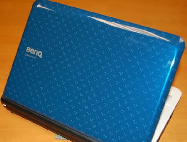 BenQ's Joybook Lite U101 delivers smileys on the lid, frownies on the keyboard