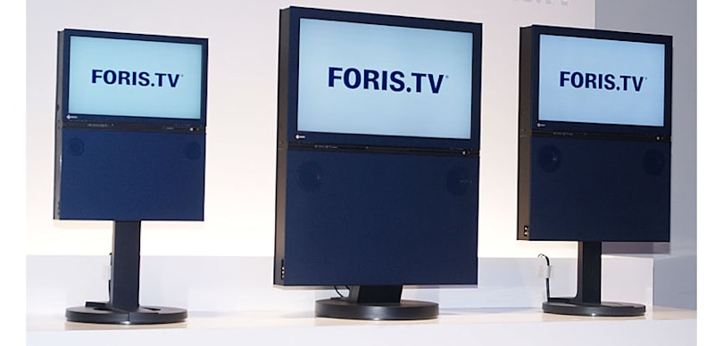 Eizo's Foris.TVs, now with less ugly