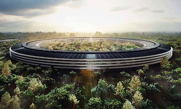 Amazing Apple Campus 2 aerial tour courtesy of AppleInsider
