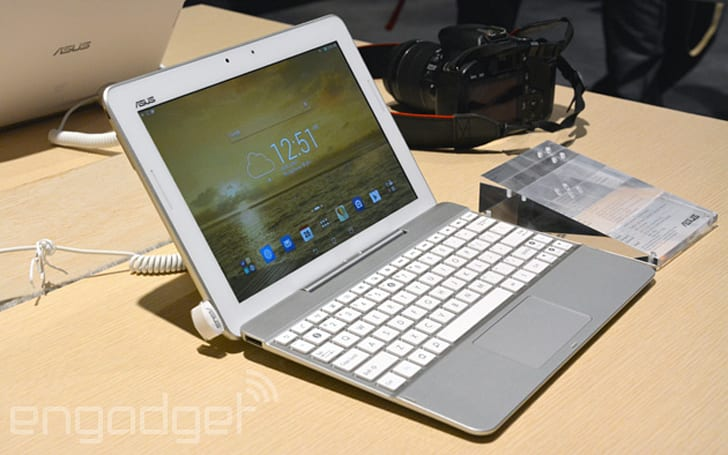 ASUS Transformer Pad refreshed with front speakers, lighter keyboard