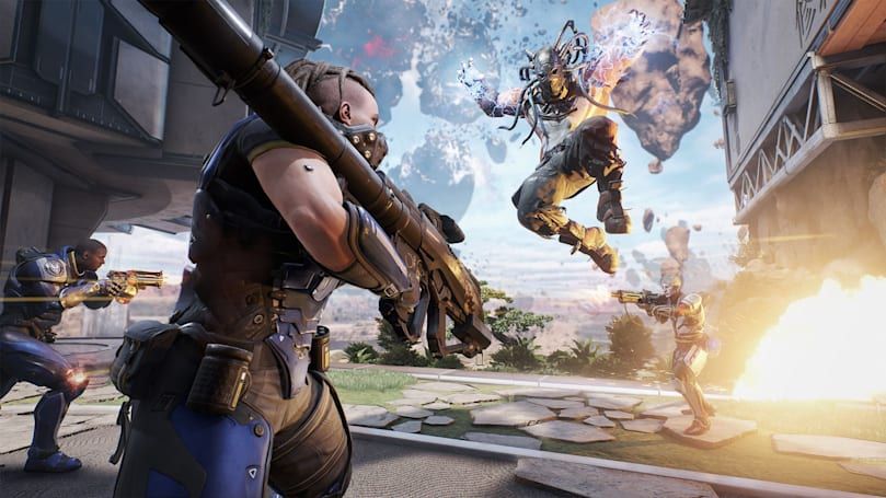 Sign up to play futuristic cops vs robbers in 'LawBreakers' now