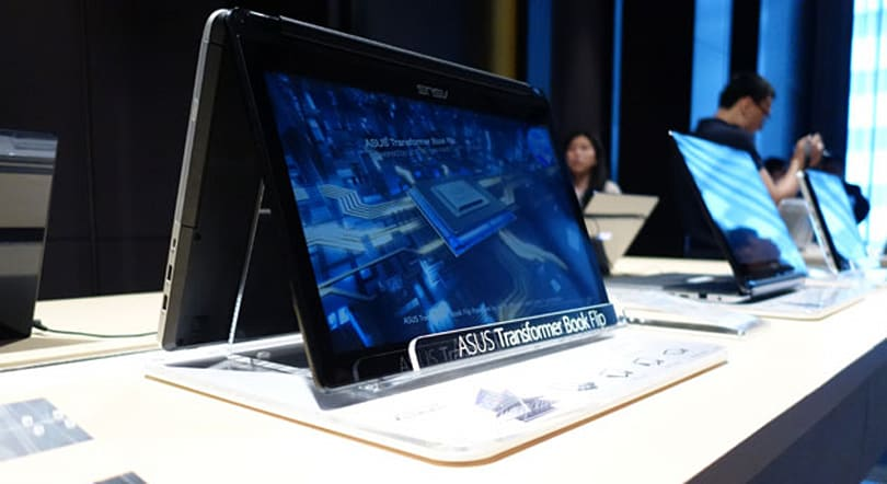 ASUS' Transformer Book Flip has a 360-degree rotatable screen, realistic pricing