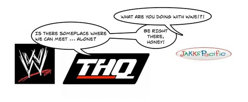 THQ stock loses 12 percent after WWE extension