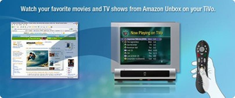 Amazon Unbox content going HD on TiVo