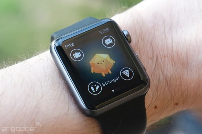 BuzzFeed's Apple Watch app is a needy virtual pet