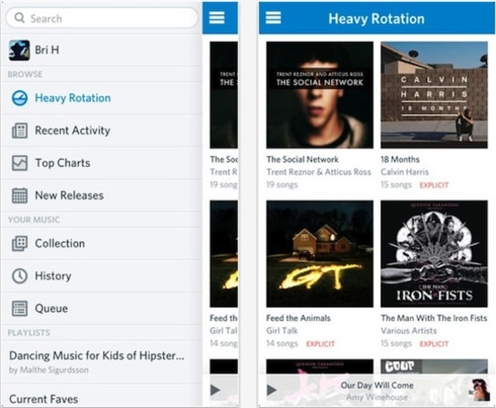 Rdio for iOS hits version 2.0: now with all-new design, unified player and more (update: Android too!)
