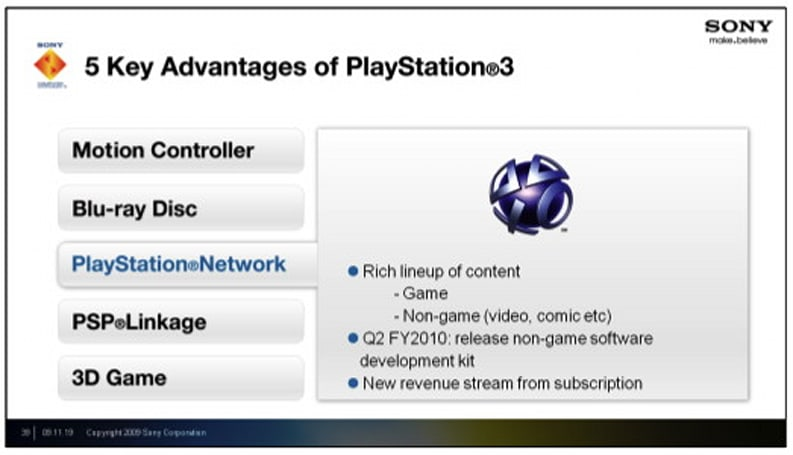 Sony to release 'non-game' dev kits in Q2 2010