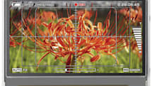 NEC's latest system-on-glass display for broadcast gear debuts