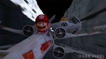 Fan mashup of 'Mario Kart' and 'Star Wars' is a gaming dream