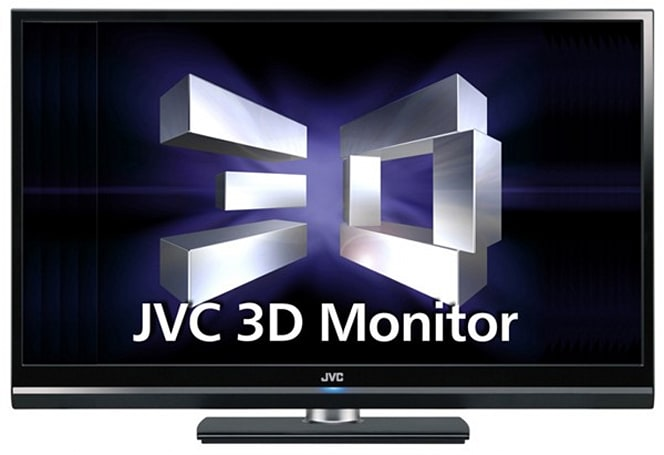 JVC intros 1080p GD-463D10 3D LCD monitor in Japan