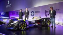 AI自動運転EVレース「Roborace」、本番レース用マシンを初公開。シェイクダウン時期は未定