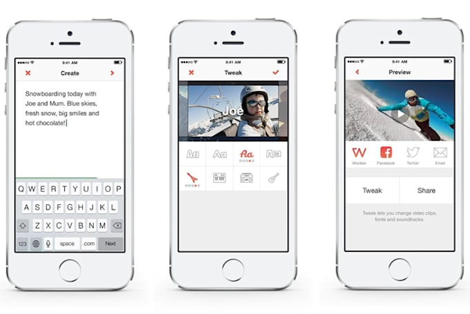 Video messaging app Wordeo turns plain text into audiovisual poetry