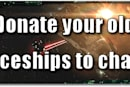 EVE Evolved: Donate your old spaceships to charity