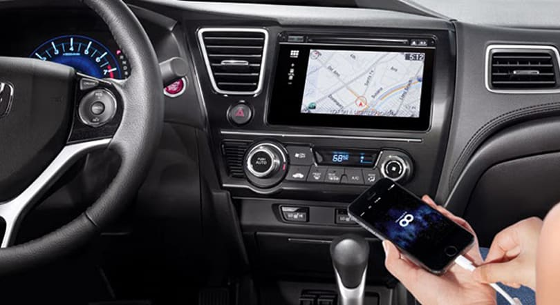 New Honda Civic packs multi-touch interface and Here Maps navigation