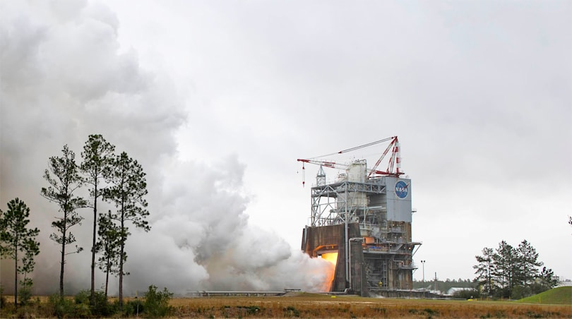 NASA successfully tests rocket engines designed for deep space