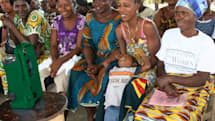 Lifeline Energy distributes solar powered radio / media players to the villages of Africa