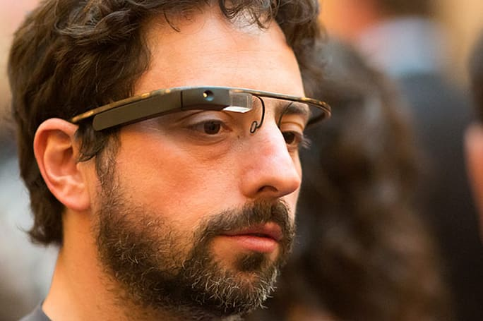 Google co-founder Sergey Brin spotted wearing Project Glass prototype IRL