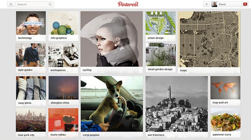 Pinterest now recommends pin-worthy things based on your interests