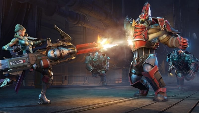 Skyforge unveils the Gunner