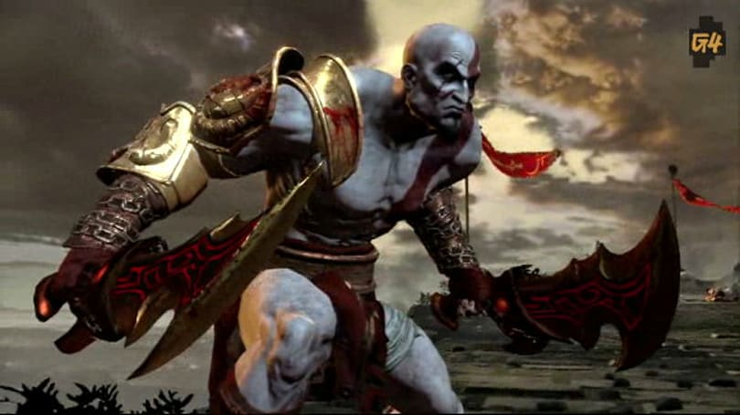 Thirteen uncut, unedited minutes of God of War III's E3 demo