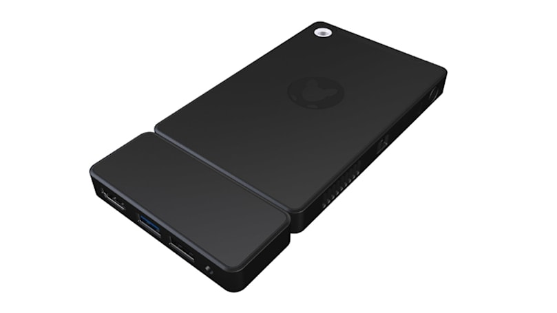 Kangaroo is a portable, phone-sized Windows 10 desktop