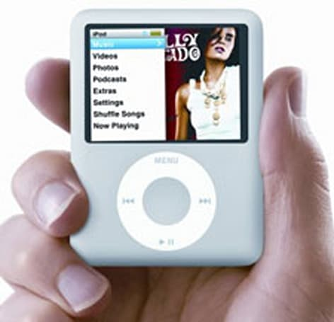 Some new iPod nanos afflicted with tilted screens