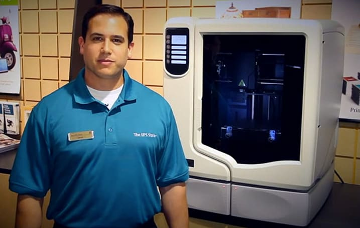 The UPS Store to offer 3D printing service in select San Diego locations (video)