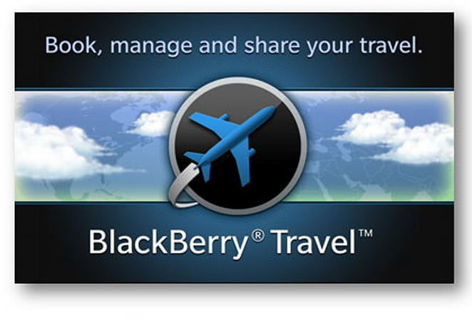 BlackBerry Travel for BB 10 launches, lets users track price changes and flight status