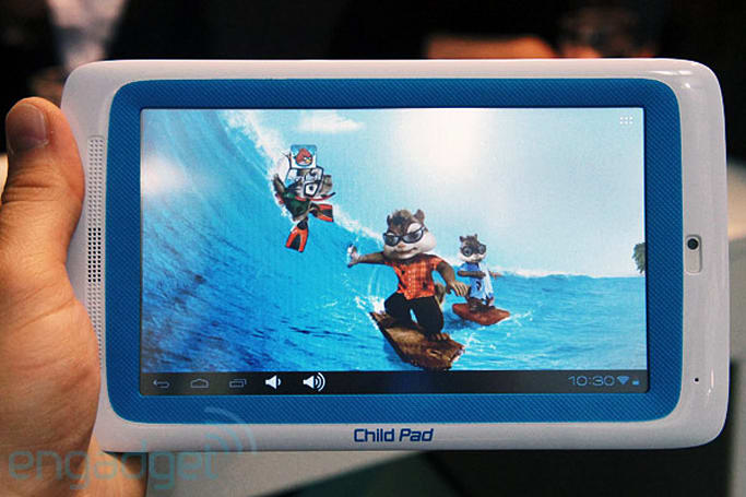 Archos Arnova 7-inch Child Pad hands-on (video)