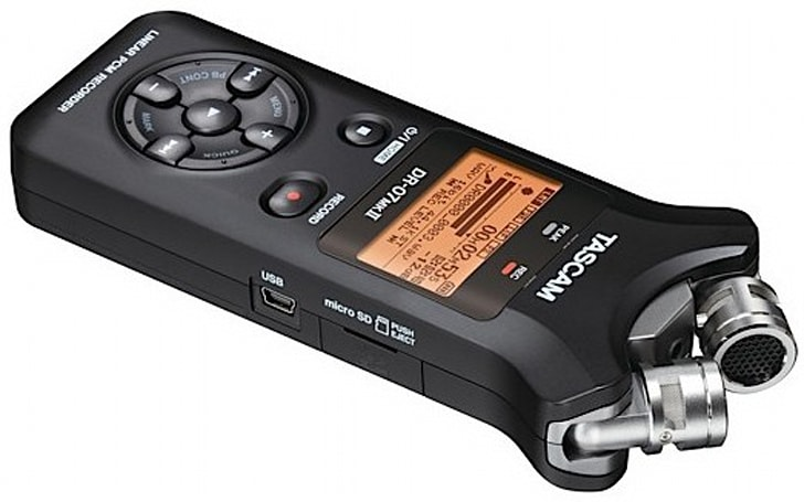 Tascam outs new DR-07 Mark II audio recorder, touts adjustable mics