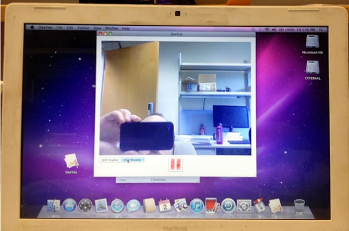 Study proves that you can secretly hijack an older Mac's webcam