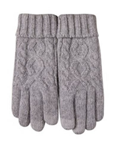 Touchscreen Wool Knit Gloves