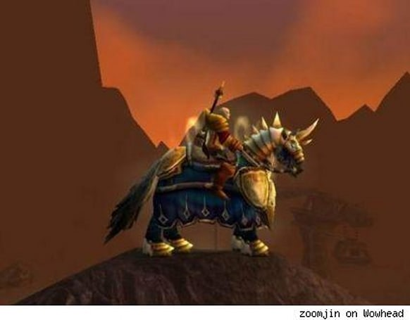 The Light and How to Swing It: The paladin epic mount quest for Alliance