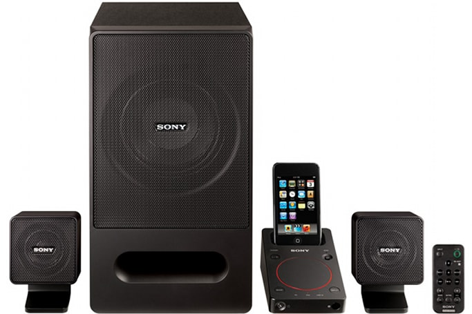 Sony SRS-GD50iP marries iPod dock with USB speakers
