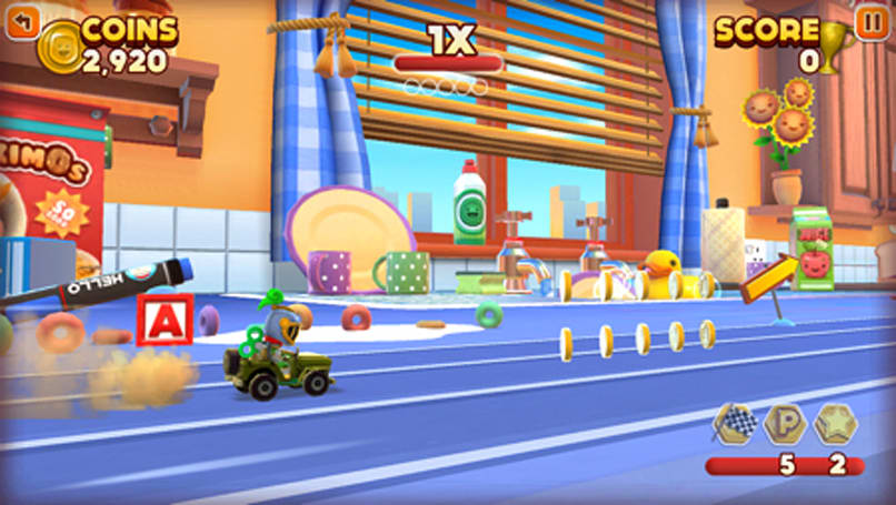 Review: Joe Danger Infinity defies death