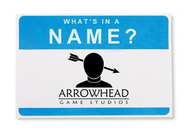 What's in a Name: Arrowhead Game Studios