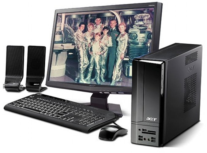 Acer intros Aspire X1700 SFF PC, 23-inch H233H 1080p LCD monitor