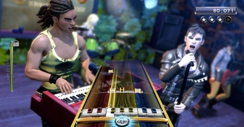 Preview: Rock Band 3 keyboard, Pro Keys and Keys trainer