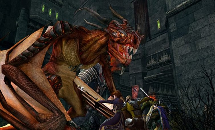 New LotRO Vol. III book 1 screens include awesome dragon