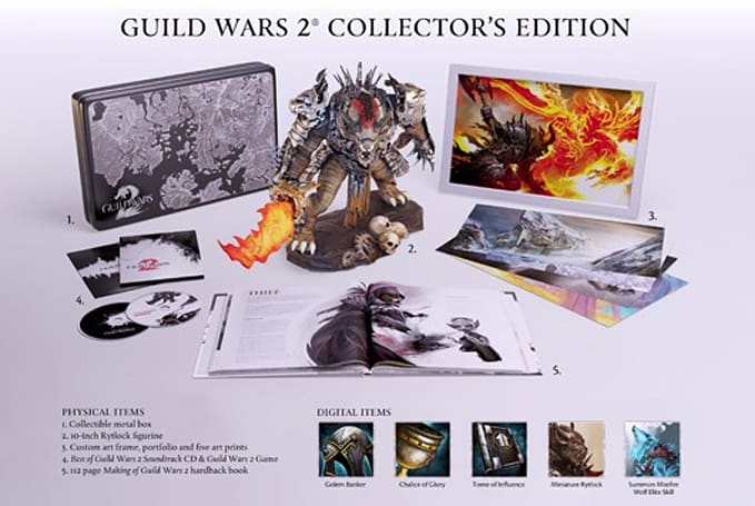 Guild Wars 2 pre-purchase details announced