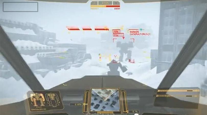 MechWarrior Online showcases new Frozen City environment in video