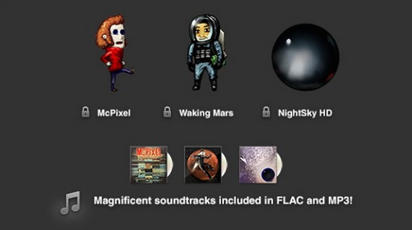 Humble Android Bundle 6 adds McPixel, Waking Mars, NightSky HD