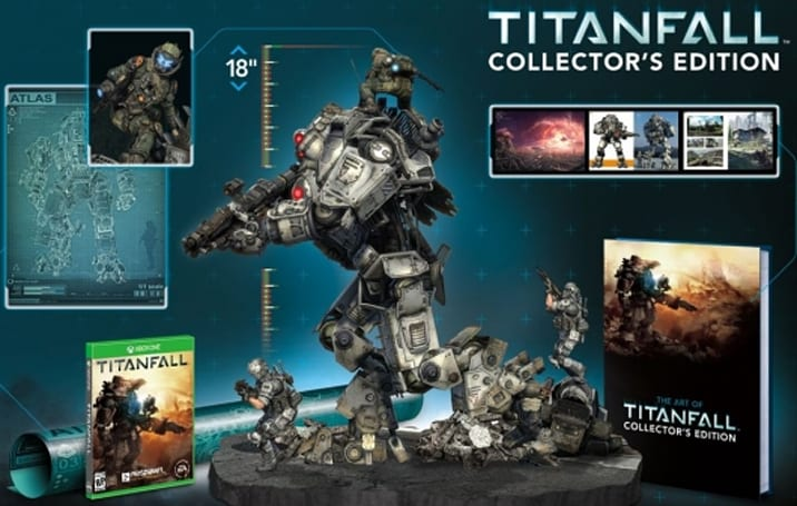 The Titanfall Collector's Edition statue isn't 'something that you'd find in a kid's meal'